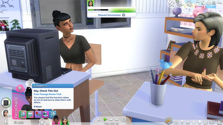Teenage Dream Trait / Sims 4 mod preview