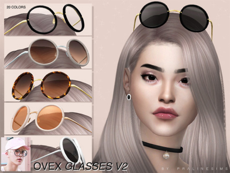OVEX Glasses / Sims 4 CC