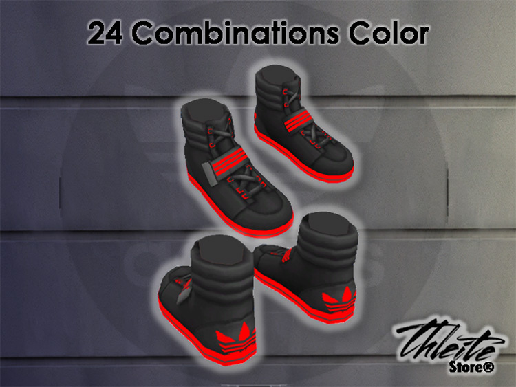 Adidas Sneakers for The Sims 4