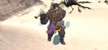 Gjallarhorn Relic Horn Weapon in Final Fantasy XI
