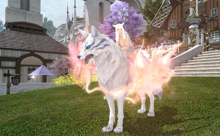 FFXIV Tomestones traded for a mount