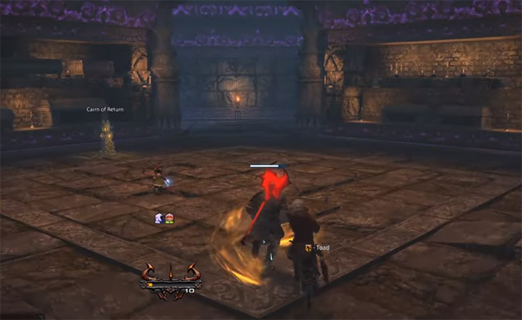 FFXIV Screen from Palace of the Dead in-game gameplay