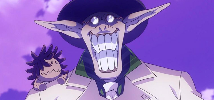 Millennium Earl Smiling from D.Gray Man Anime
