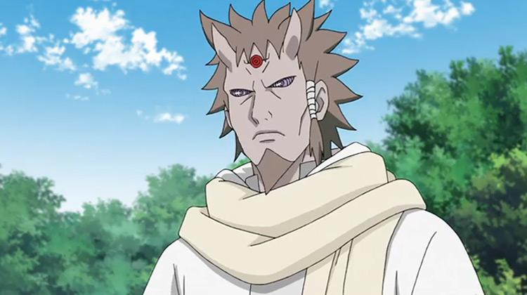 Hagoromo Otsutsuki in Naruto Shippuden anime