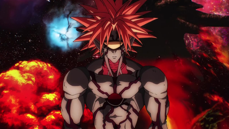 Boros in One Punch Man anime