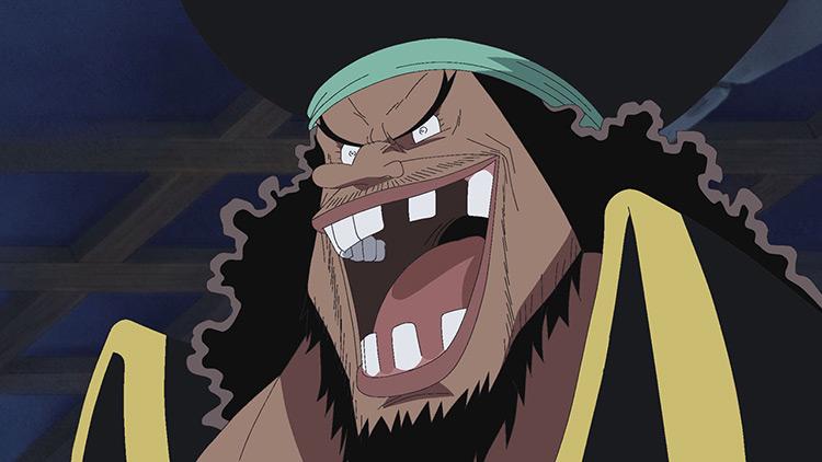 Blackbeard from One Piece anime