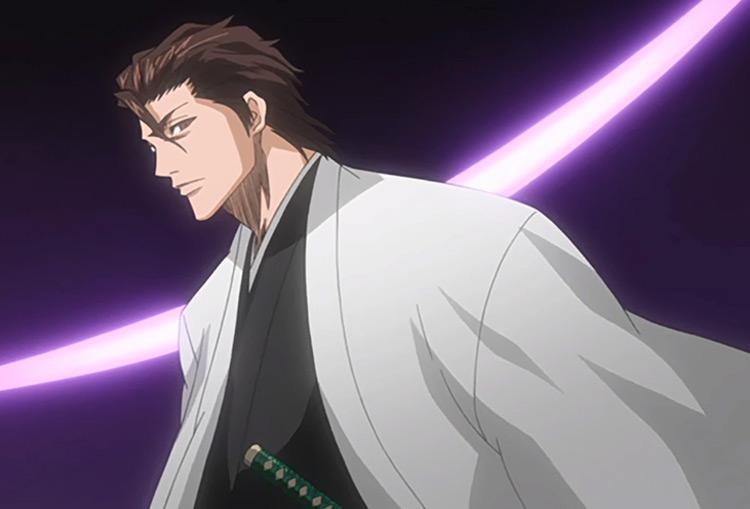 Aizen from Bleach anime