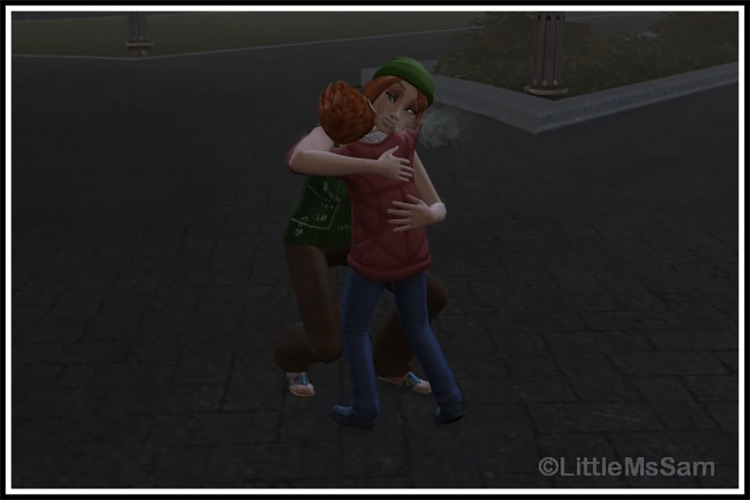 Spend Weekend With Mod TS4 CC