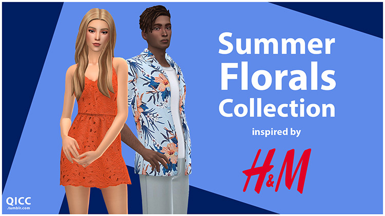 Summer Florals Collection TS4 CC