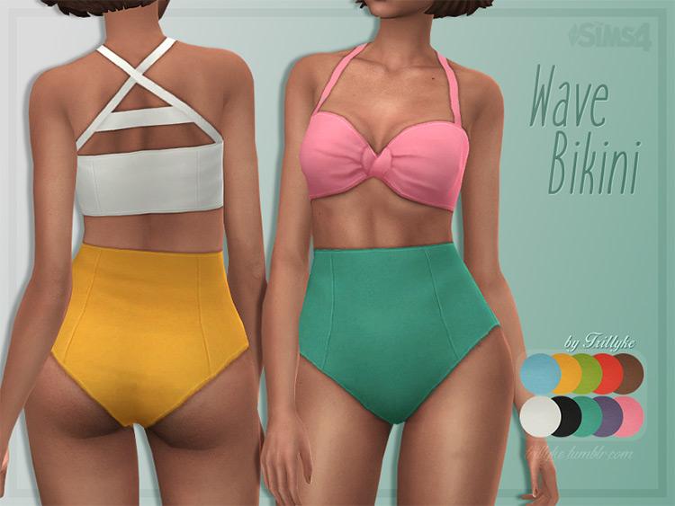 Wave Bikini CC