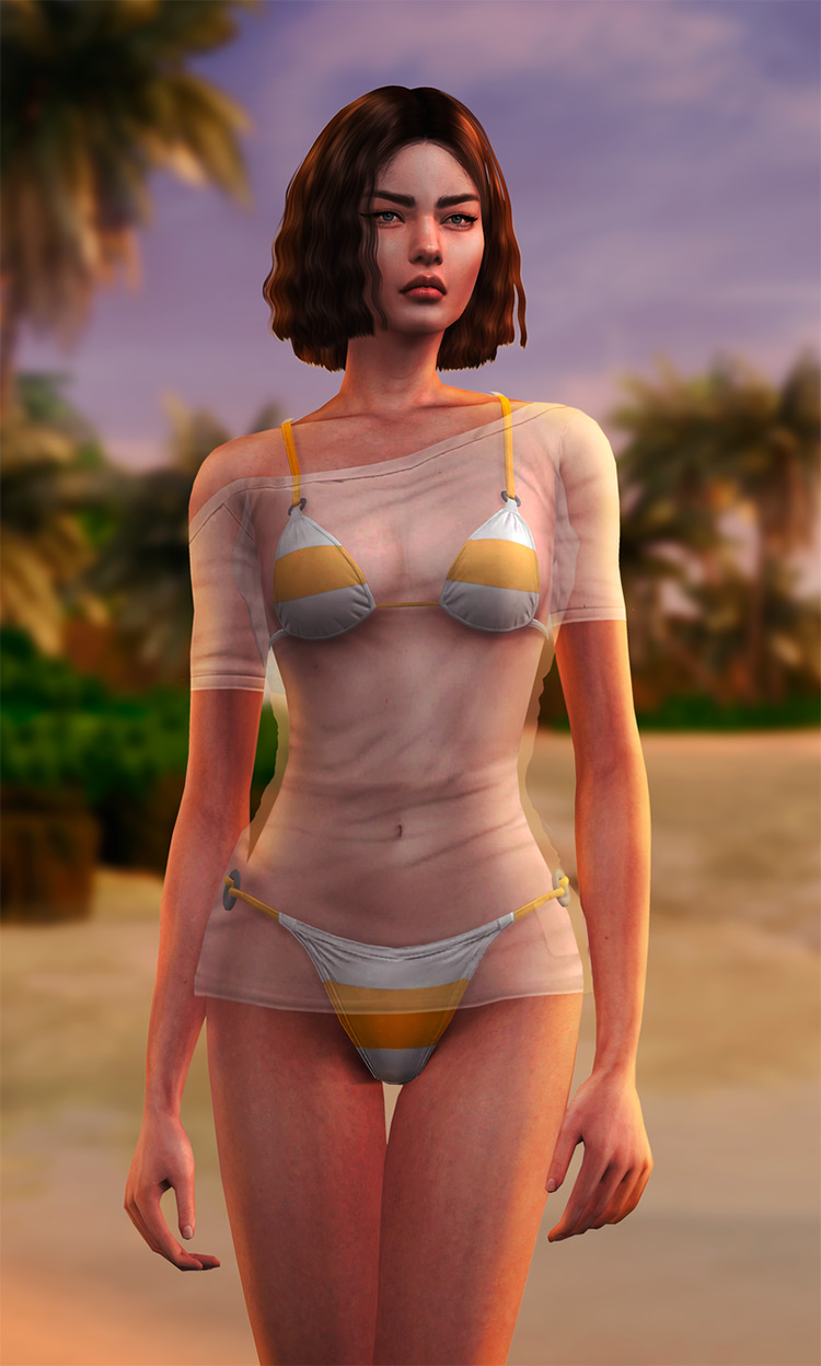 Dead or Alive Swimsuits Set #2