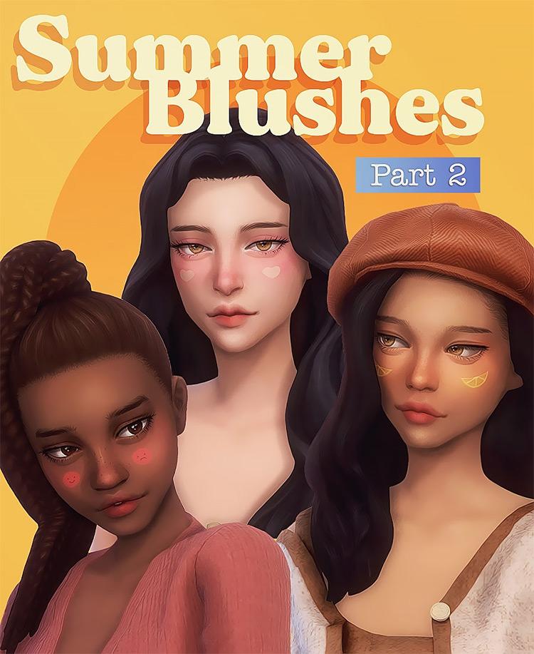 Summer Blushes Part 2 / Sims 4 CC