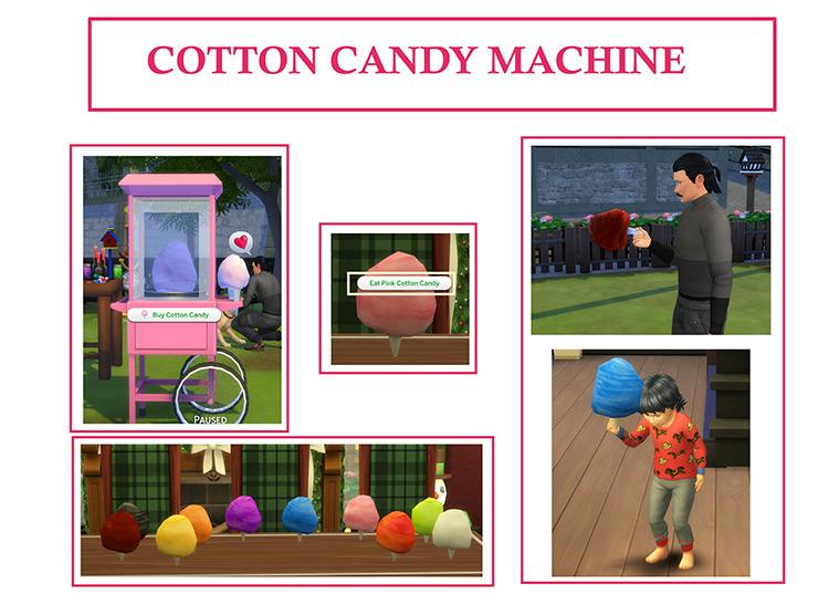 Cotton Candy Machine / Sims 4 CC