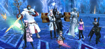 FFXIV Group Screenshot of a party