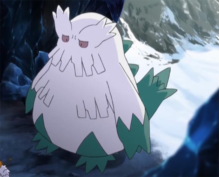Abomasnow Pokemon anime screenshot