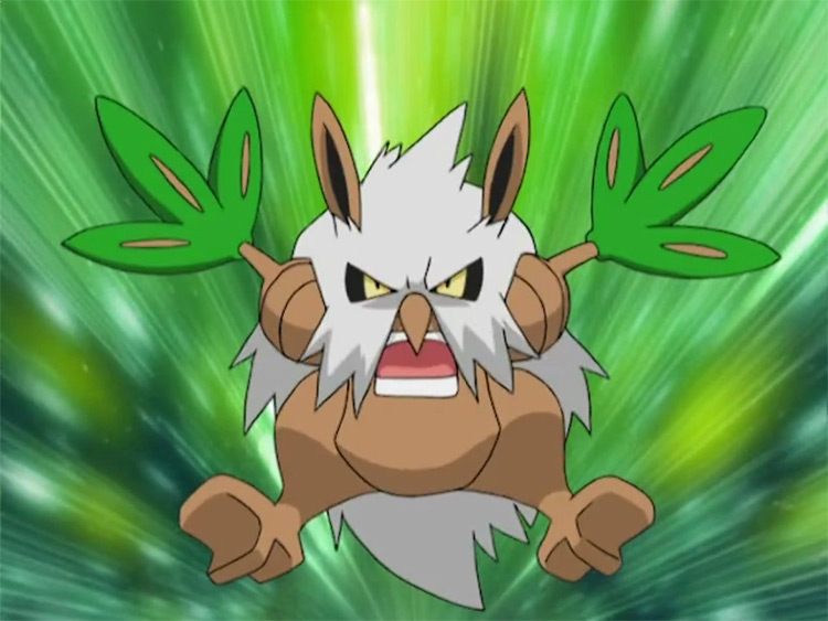 Shiftry from Pokemon anime