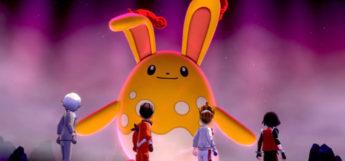 Shiny Azumarill in Pokemon SwSh