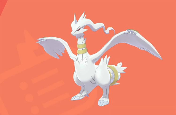 Shiny Reshiram in Pokémon SWSH