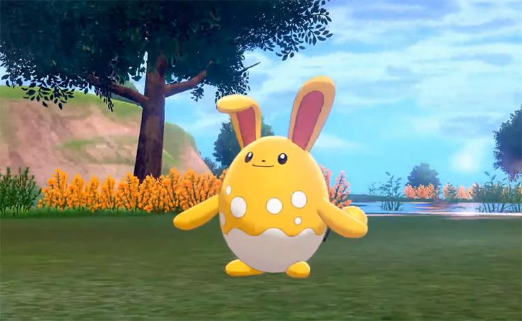 Shiny Azumarill Pokémon Golden-Colored