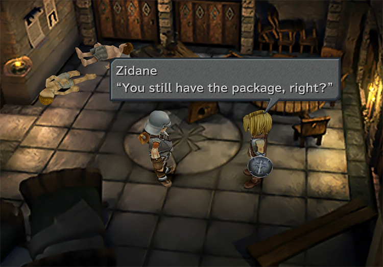Zidane and Blank in FF9
