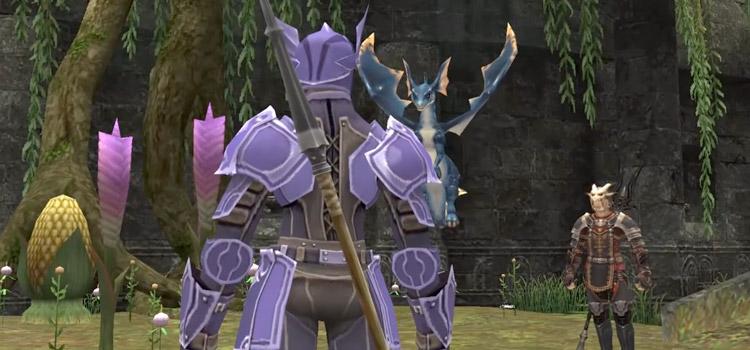 Dragoon Build from Behind in Final Fantasy XI