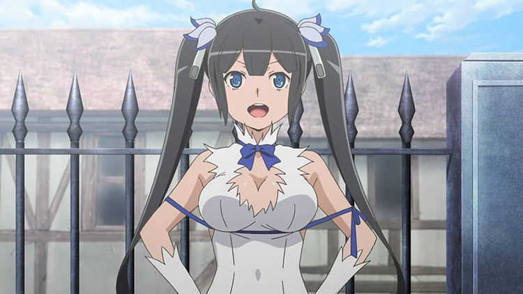 Hestia from Is It Wrong to Try to Pick Up Girls in a Dungeon?