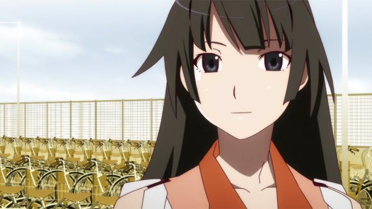 Hitagi Senjougahara from Bakemonogatari anime