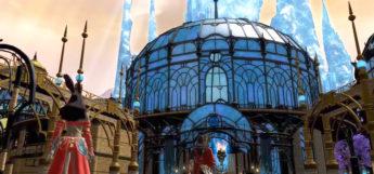 Crystarium City in FFXIV
