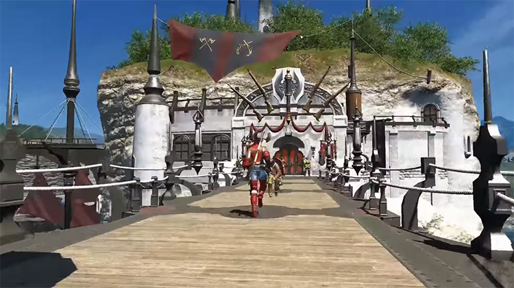 Limsa Lominsa in Final Fantasy XIV