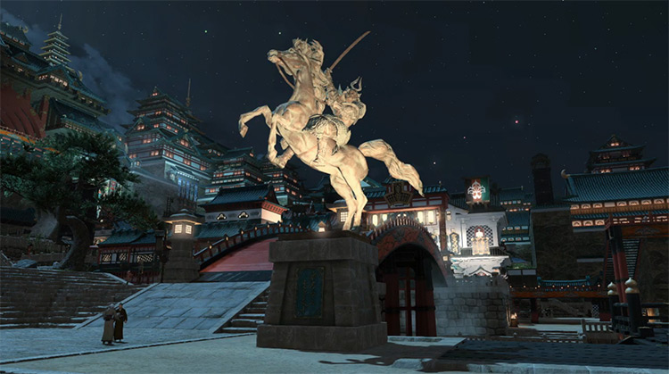 Kugane FFXIV City Screenshot