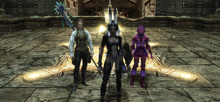 FFXII Screenshot from Stilshrine of Miriam