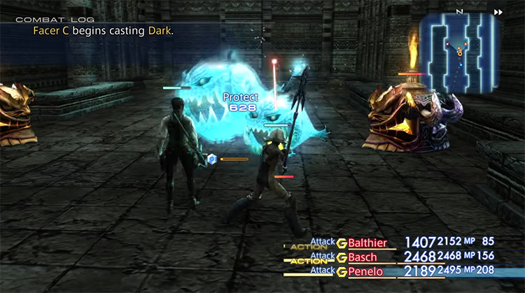 Stilshrine of Miriam - Ward of the Sword-King FFXII Grinding Spot