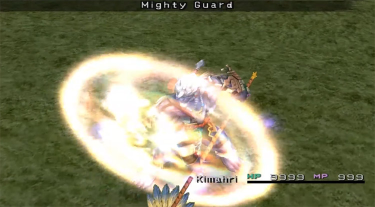 Kimahri's Mighty Guard FFX Overdrive