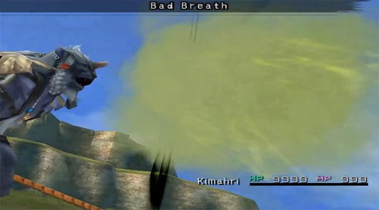 Kimahri's Bad Breath FFX screenshot