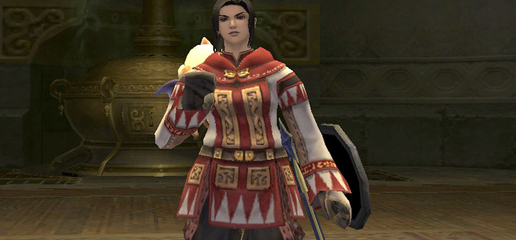 White mage character build in FFXI