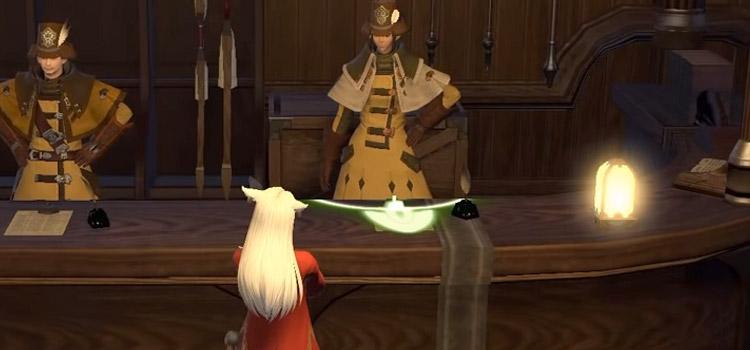 FFXIV Guild Interior Screenshot