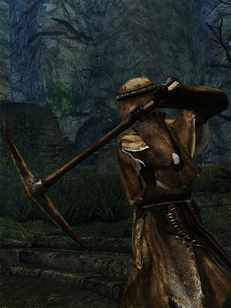 Pickaxe in DS1 Remastered