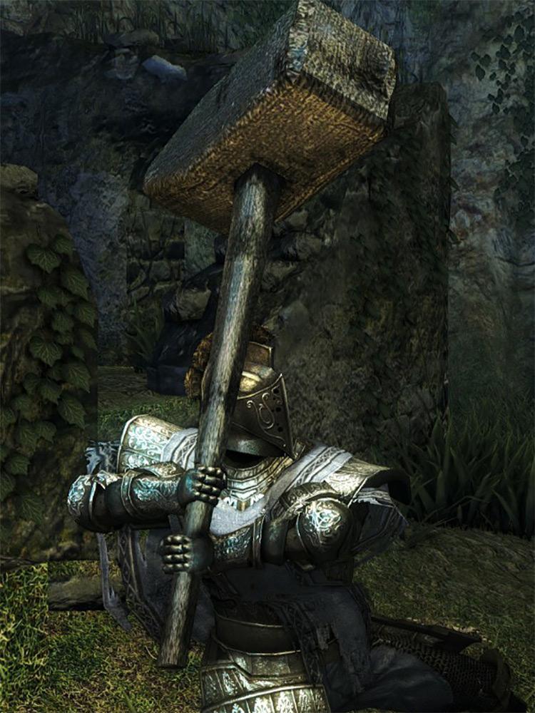 Blacksmith Giant Hammer Dark Souls 1 Remastered