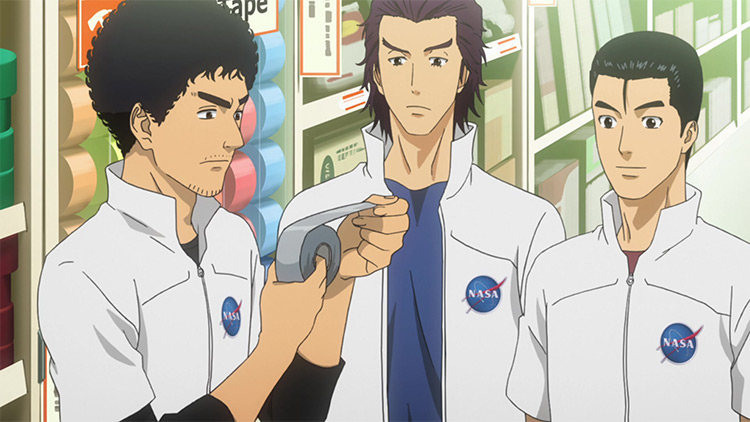 Space Brothers anime by A-1 Pictures