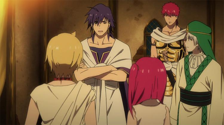Magi: The Labyrinth of Magic A-1 Pictures anime
