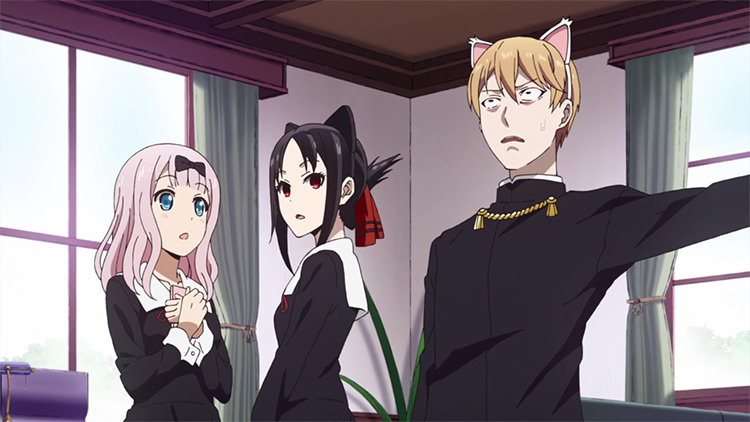 Kaguya-sama: Love is War by A-1 Pictures