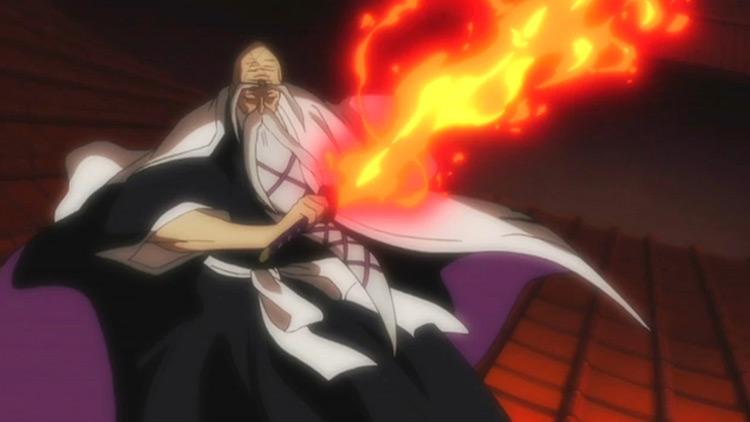 Shigekuni Yamamoto-Genryuusai from Bleach anime