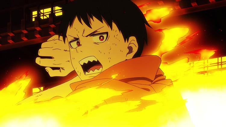 Shinra Kusakabe from Fire Force anime