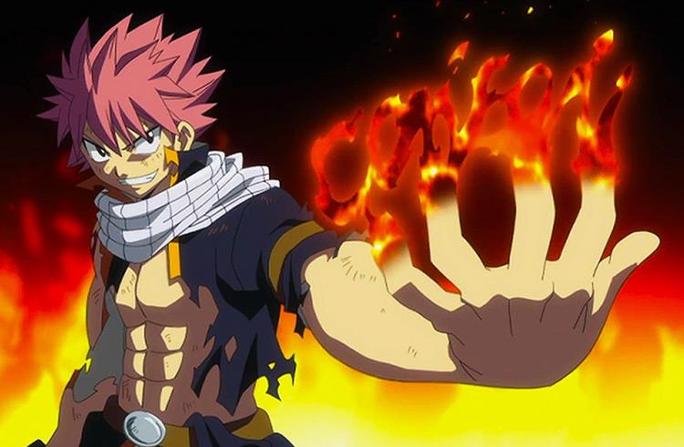 Natsu Dragneel Fairy Tail anime screenshot