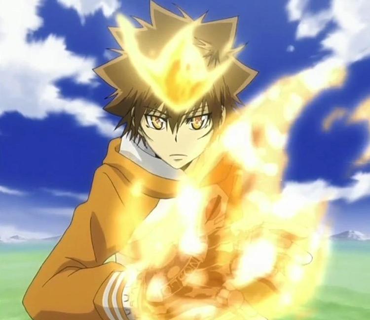 Tsunayoshi Sawada from Katekyo Hitman Reborn