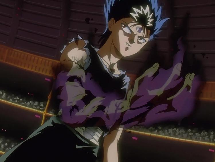 Hiei in Yu Yu Hakusho: Ghost Files