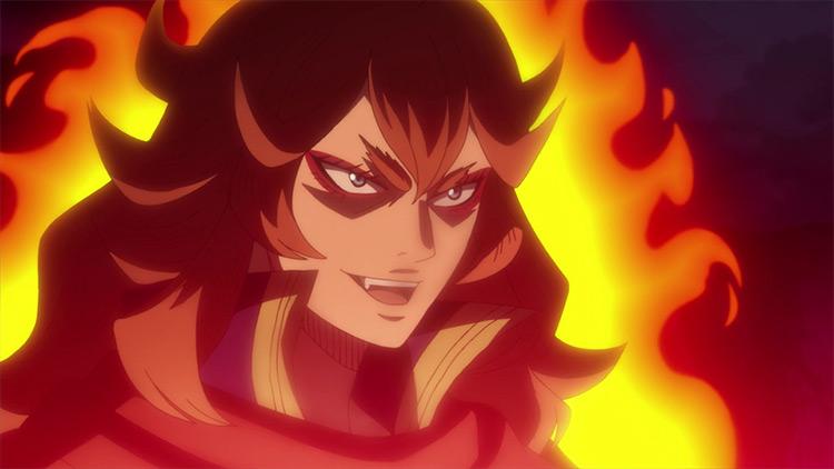 Mereoleona Vermillion in Black Clover anime