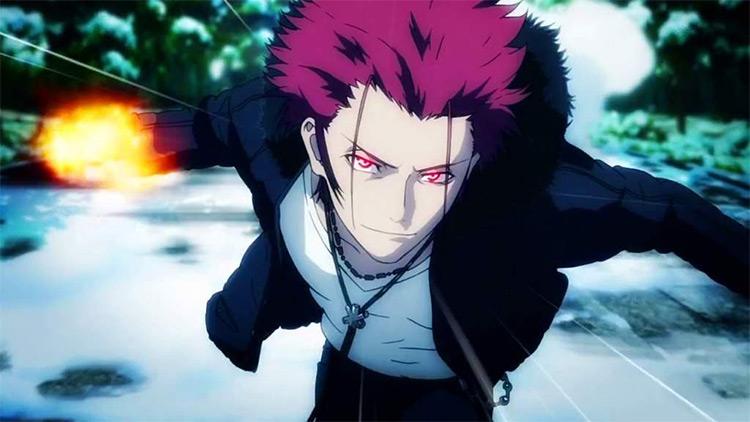 Mikoto Suoh K-Project anime screenshot