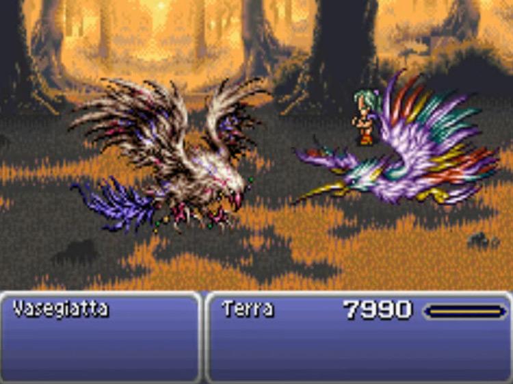 Quetzalli esper in FF6