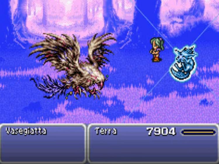Carbuncle Final Fantasy 6 esper